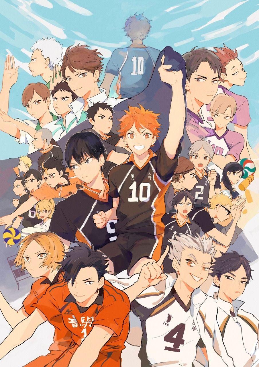 34+ Anime minimalist poster haikyuu ideas