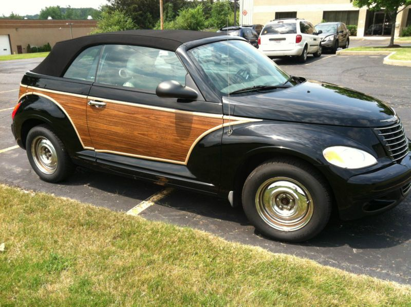 Pt Cruiser Turbo Convertible With Wood Panels