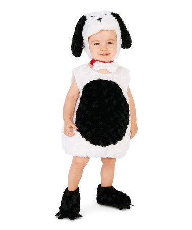 White  Black Gentle Puppy Costume - Infant  Kids Cute Stuff - black skirt halloween costume ideas