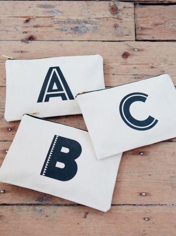 Canvas Pouch - G   Canvas Pouches   Shop   Alphabet Bags