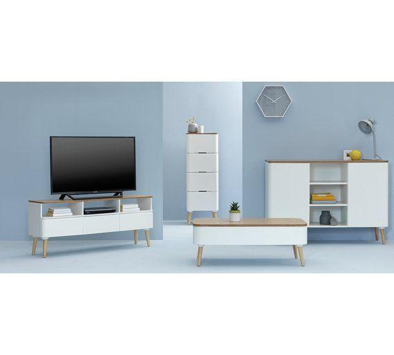 Buy Hygena Reese Round Corner TV Unit At Argoscouk