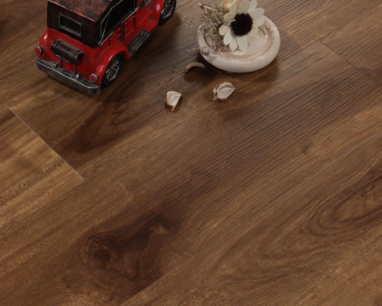 Waterproof Wpc Vinyl Flooring Box Of 11 Planks Color Royal Oak