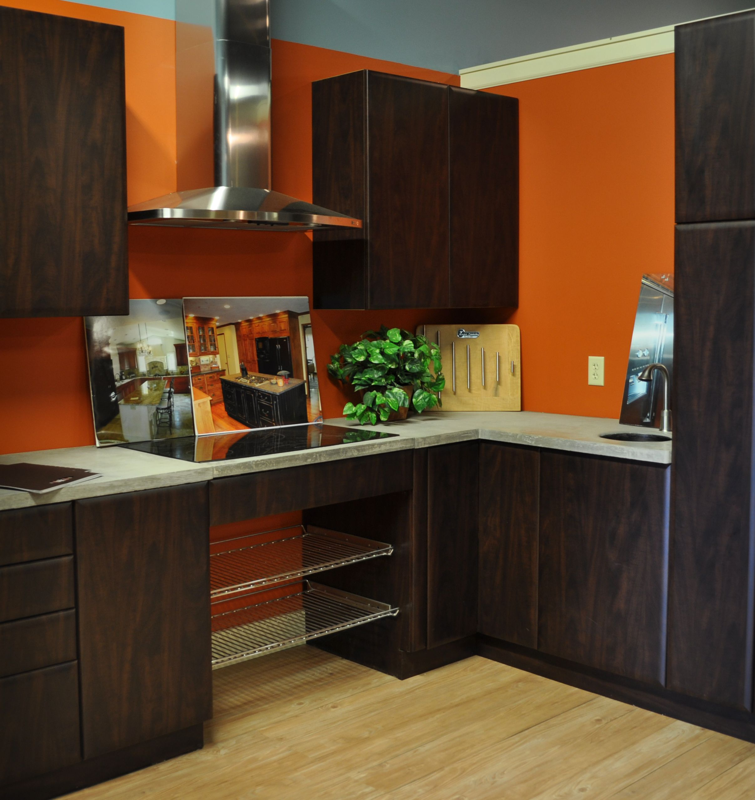 This kitchen display can be found in our syracuse ny showroom