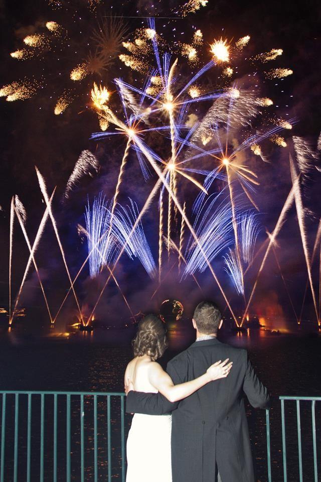 Epcot Illuminations Dessert Party From Disney S Fairytale Weddings Location Uk Loch Orlando Wedding Photography Disney Fairy Tale Weddings Fairytale Weddings