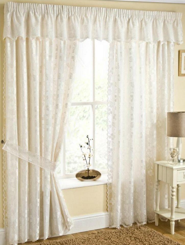 Кружевные шторы в вашем доме #window #interior #design #decor #beautiful #modern #curtains