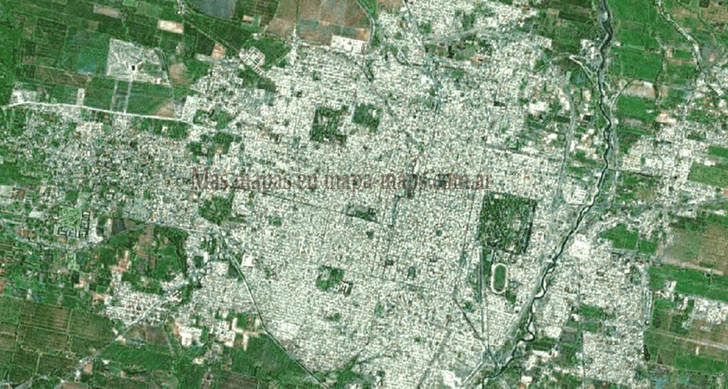 mapa Satelital de Tucuman