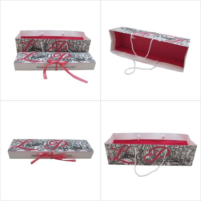 Custom Hair Extension Packaging Wholesale Paper Box Paper Bag