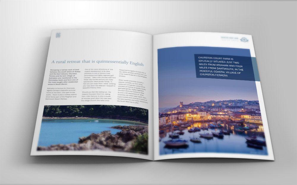 Property Brochure on Behance Hume Pinterest Brochures and - property brochure