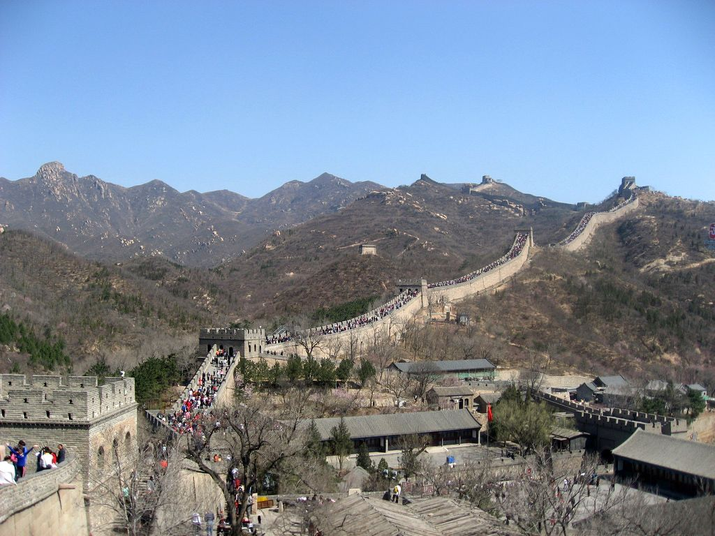 Badaling Where There In Spring Great Wall Of China Wonders Of The World Vacation Memories