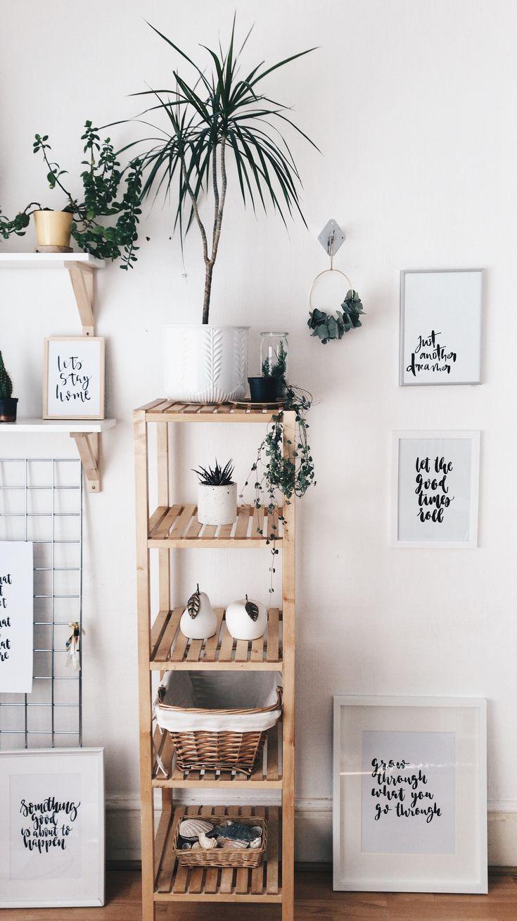 Piante e stampe home decor nel 2019 decorazione for Stampe moderne per soggiorno