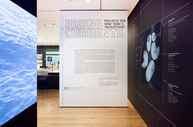 Rising Currents Project S For Ny S Waterfront Moma Wall Text Trendy Wall Art Wall Design