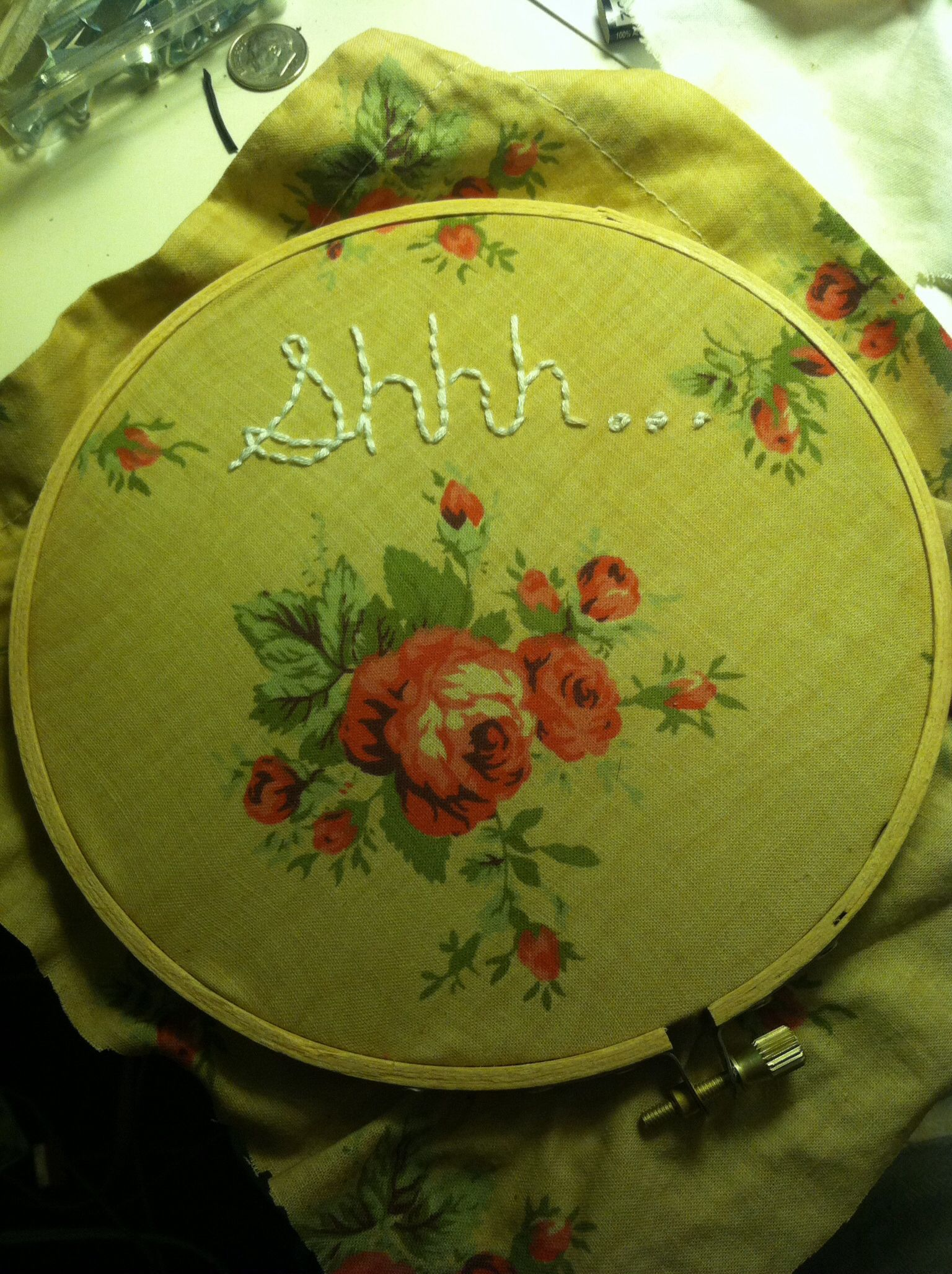 embroidery.  shhhh.