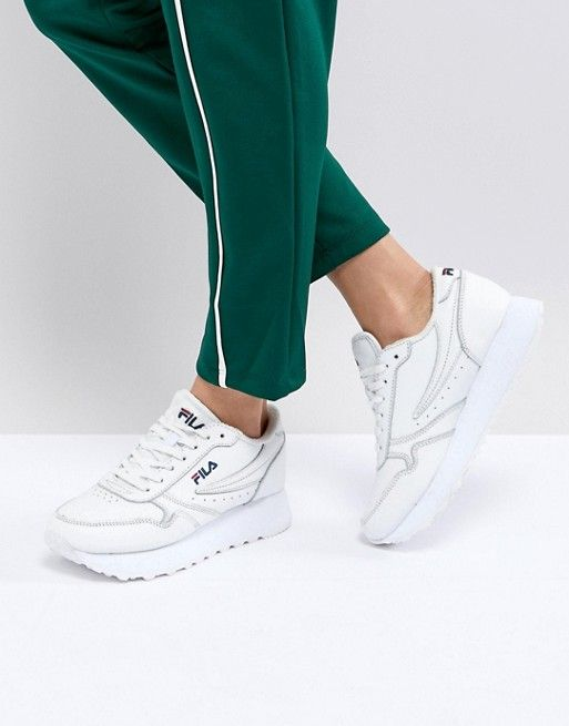 Fila Platform Orbit Sneakers In White | Mode | Pinterest | Fashion online,  Clothes and Fashion
