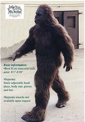 Stay warm this winter with a bigfoot suit...Iu0027m pretty sure my hubby would get shot wearing this. & Stay warm this winter with a bigfoot suit...Iu0027m pretty sure my hubby ...