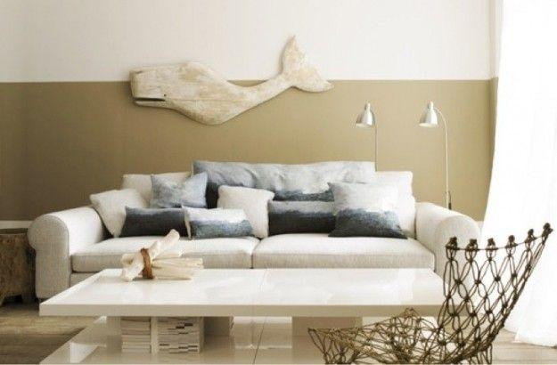 Pareti Bianche E Beige : Abbinare due colori in una stanza myhome pareti