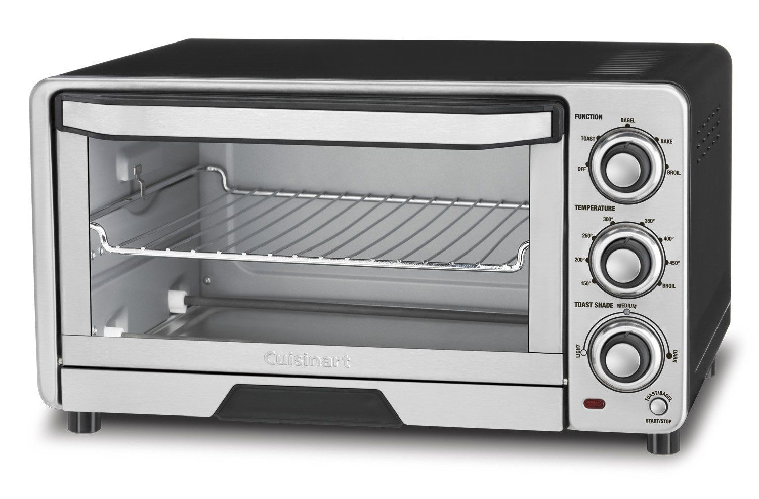 Cuisinart Tob 40fr Custom Classic Toaster Oven Broiler Silver