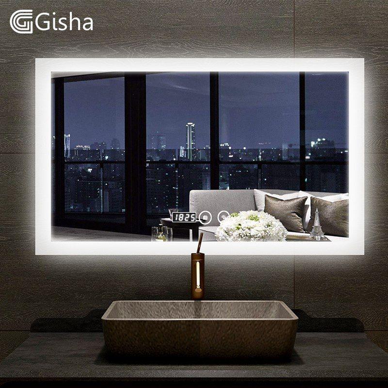 Pas cher Gisha Intelligent Miroir LED Salle De Bains Miroir ...