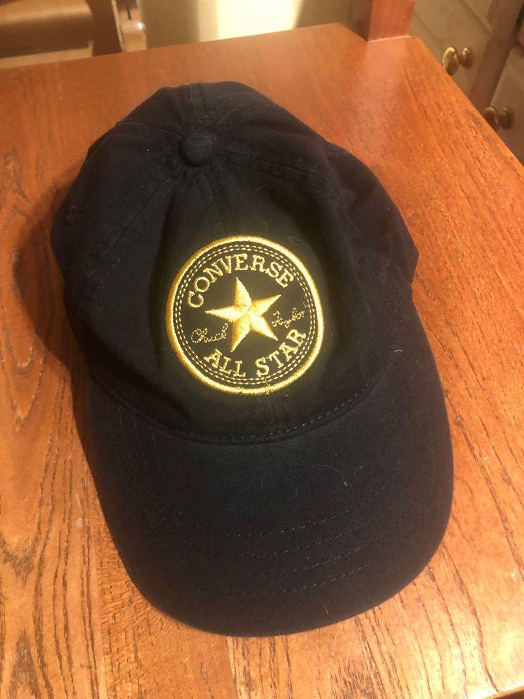e6f5d3edd37 Converse All Star Chuck Taylor baseball hat black  fashion  clothing  shoes   accessories