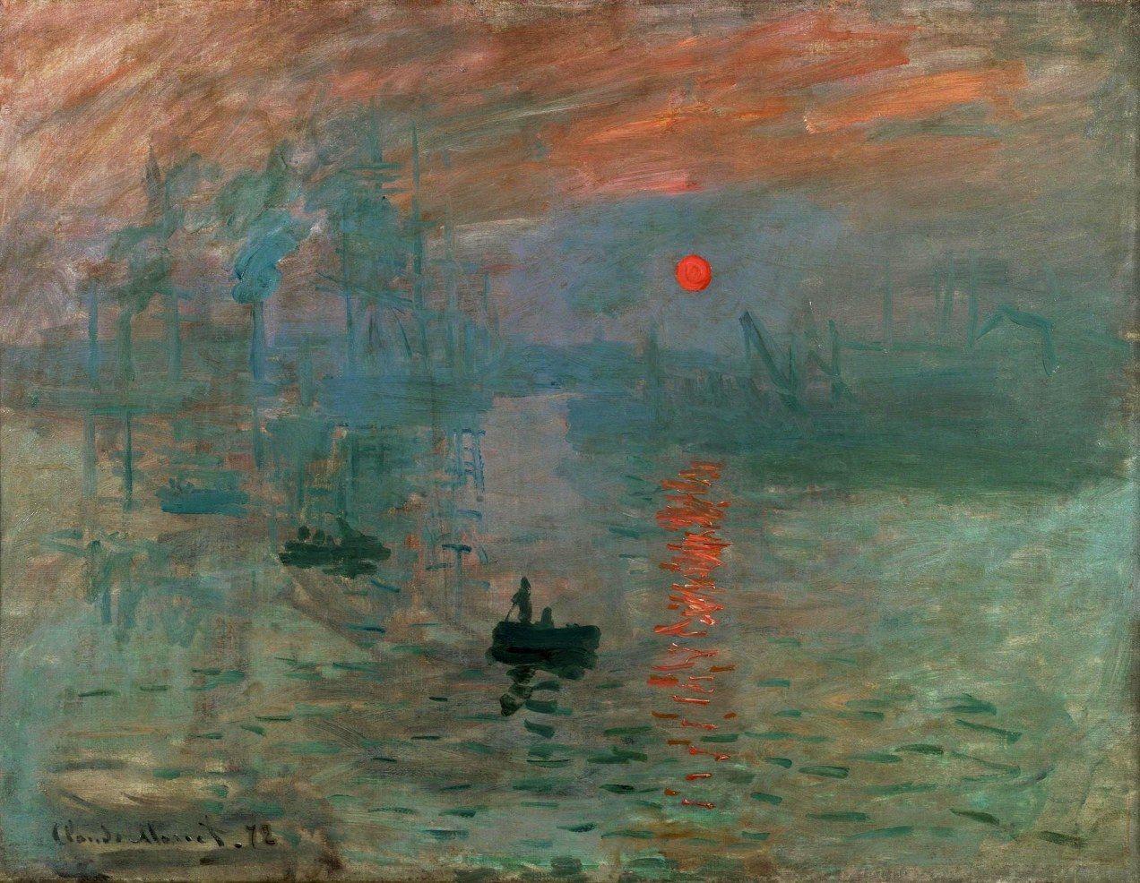 Claude Monet (1840-1926, France) | Impression, soleil levant, 1872