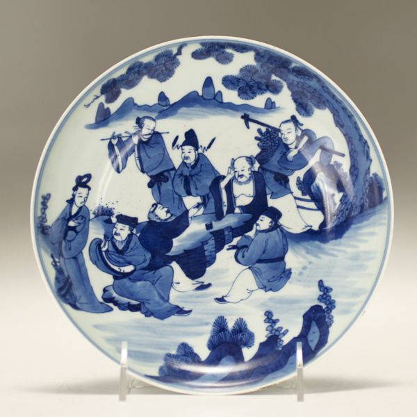 Blue And White Plates chinese kangxi blue and white porcelain | my blue and white dreams