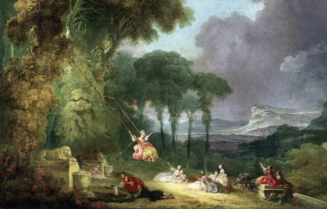 The Swing Fragonard Print