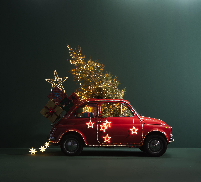 wehkamp #fiat500 #kerst #kerstboom #verlichting #decoratie ...