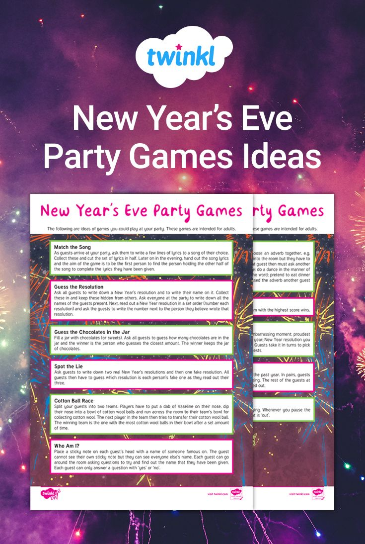 Download this comprehensive list of New Year's Eve party ...