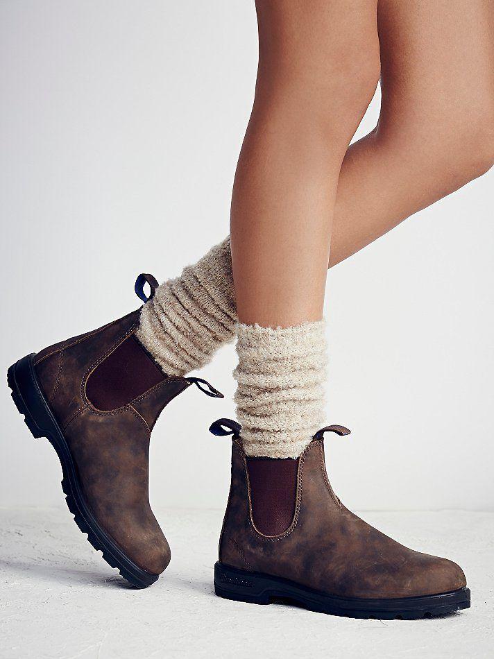 Waterproof leather chelsea boots. Keep