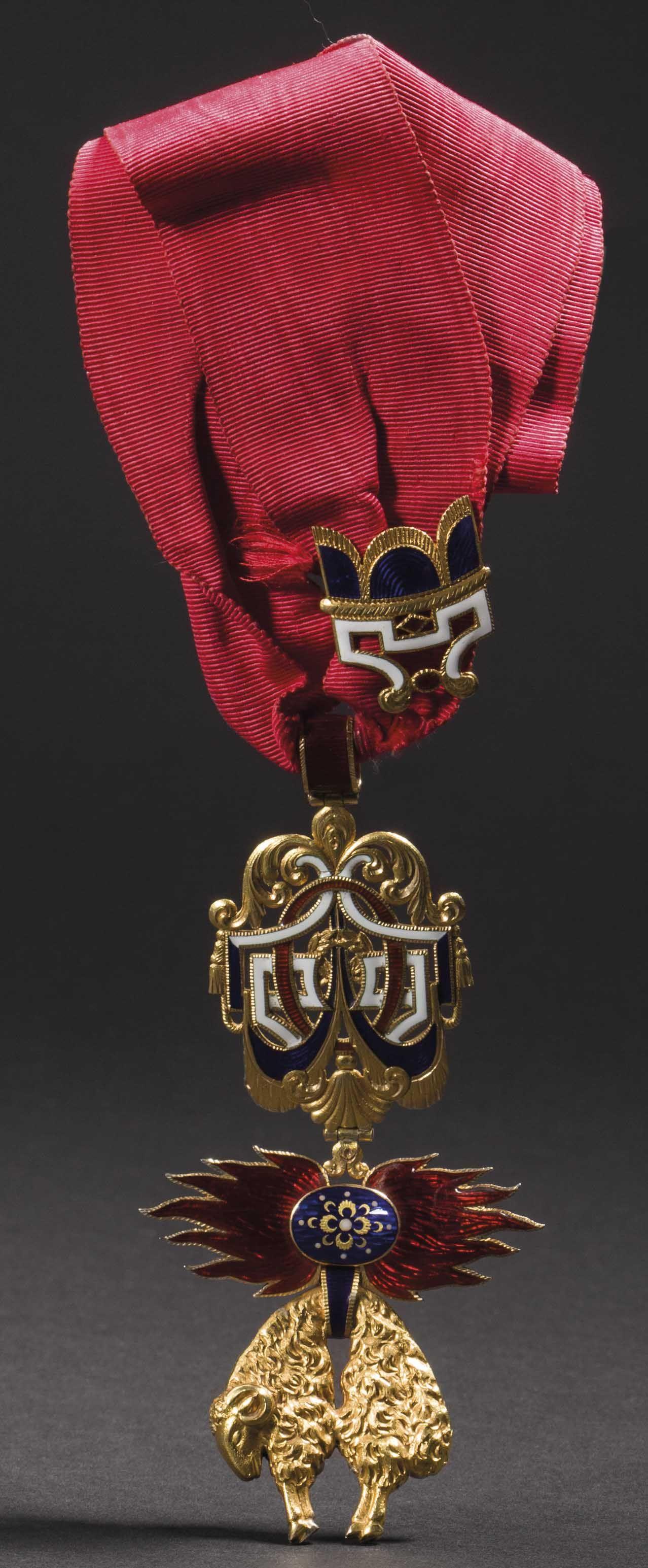 Order of the Golden Fleece (Spanish) — Badge belonged to
