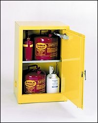 Used Flammable Cabinet 12 Gallon Storage Cabinet Shelves Storage Cabinet Storage Cabinets