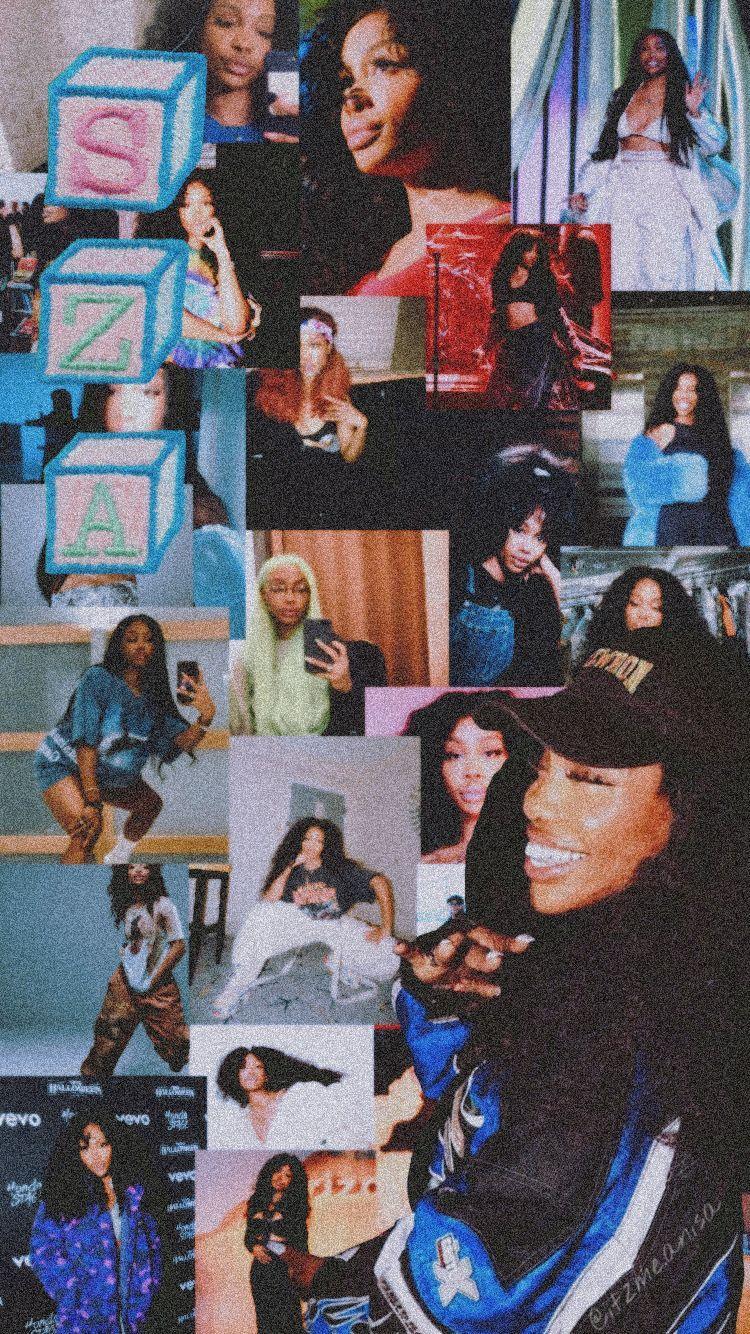 Sza Wallpaper Sza Wallpaper Music Sza Rnb Black Girl Black Girl Magic Pretty Girl Pretty Girl Wallpaper Bad Girl Wallpaper Edgy Wallpaper