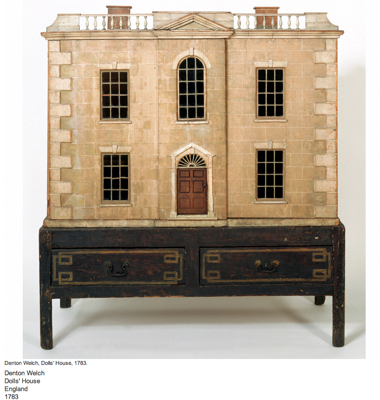 Dollhouse Miniatures Victoria Bc: Denton Welch Doll's House, England, 1783. V Museum. Great