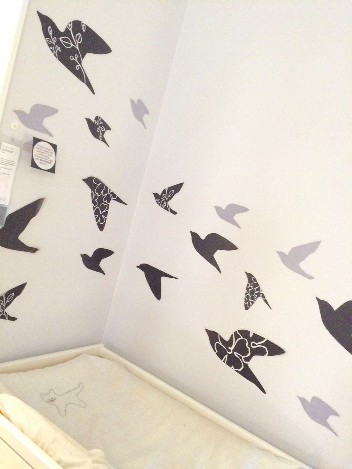 This was taken by me in IKEA #wallstickers #IKEA
