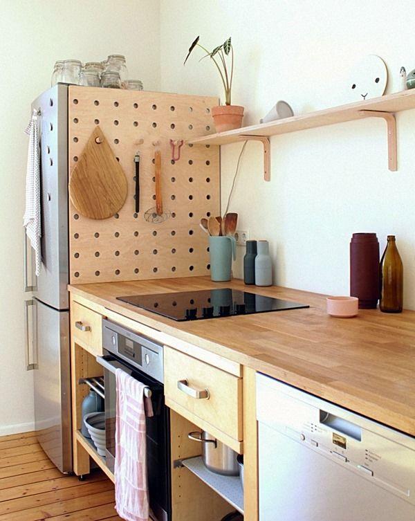 20 ideias para aproveitar todos os cantinhos da cozinha   Cocinas ...