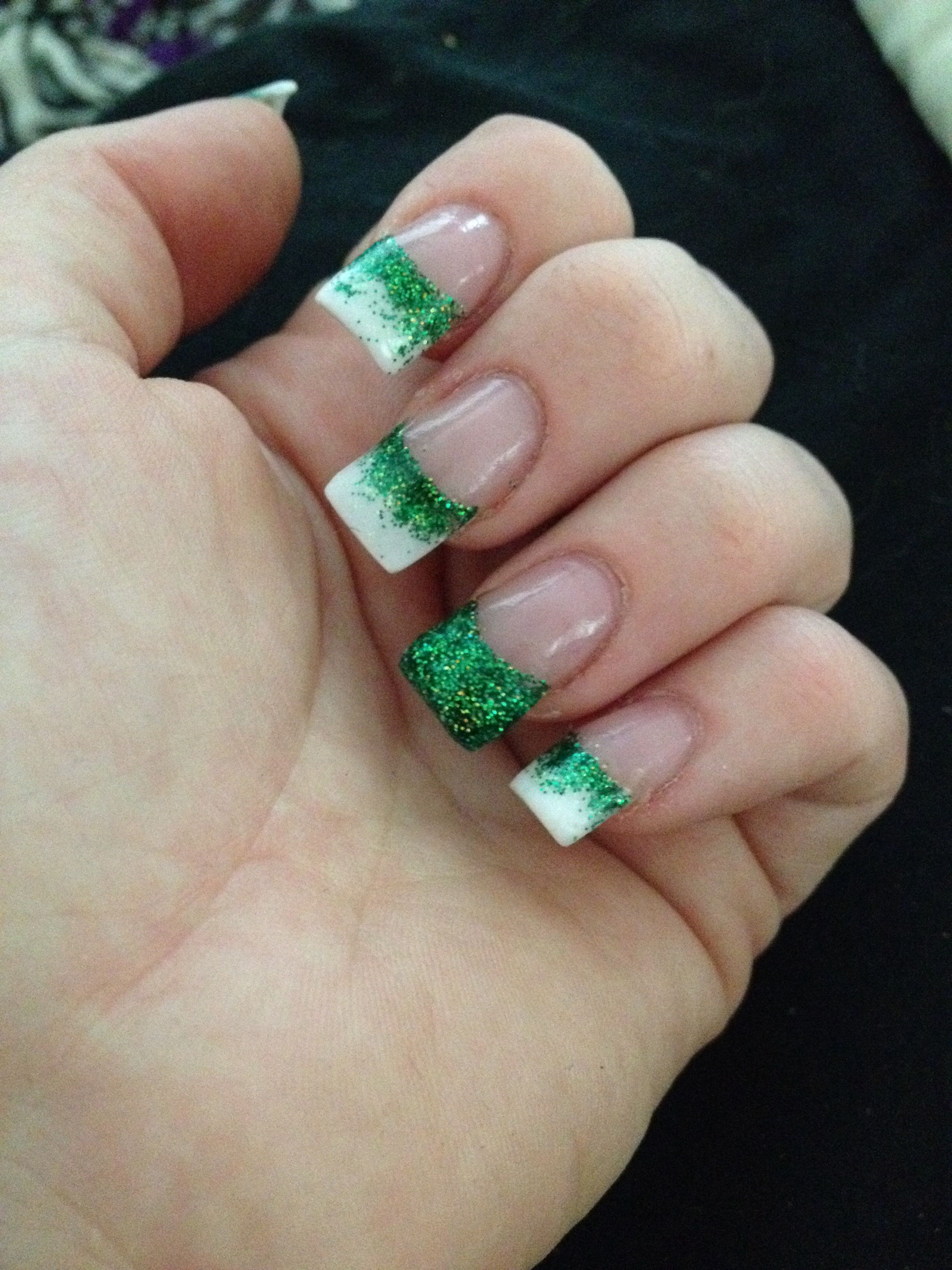 Saint Patricks day nails | St patricks day nails, Irish ...
