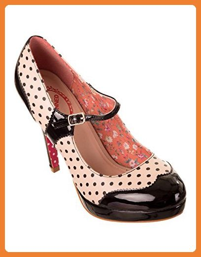 Dancing Days by Banned Damen Pumps - Mary Jane Rot 36 oXp7UFb