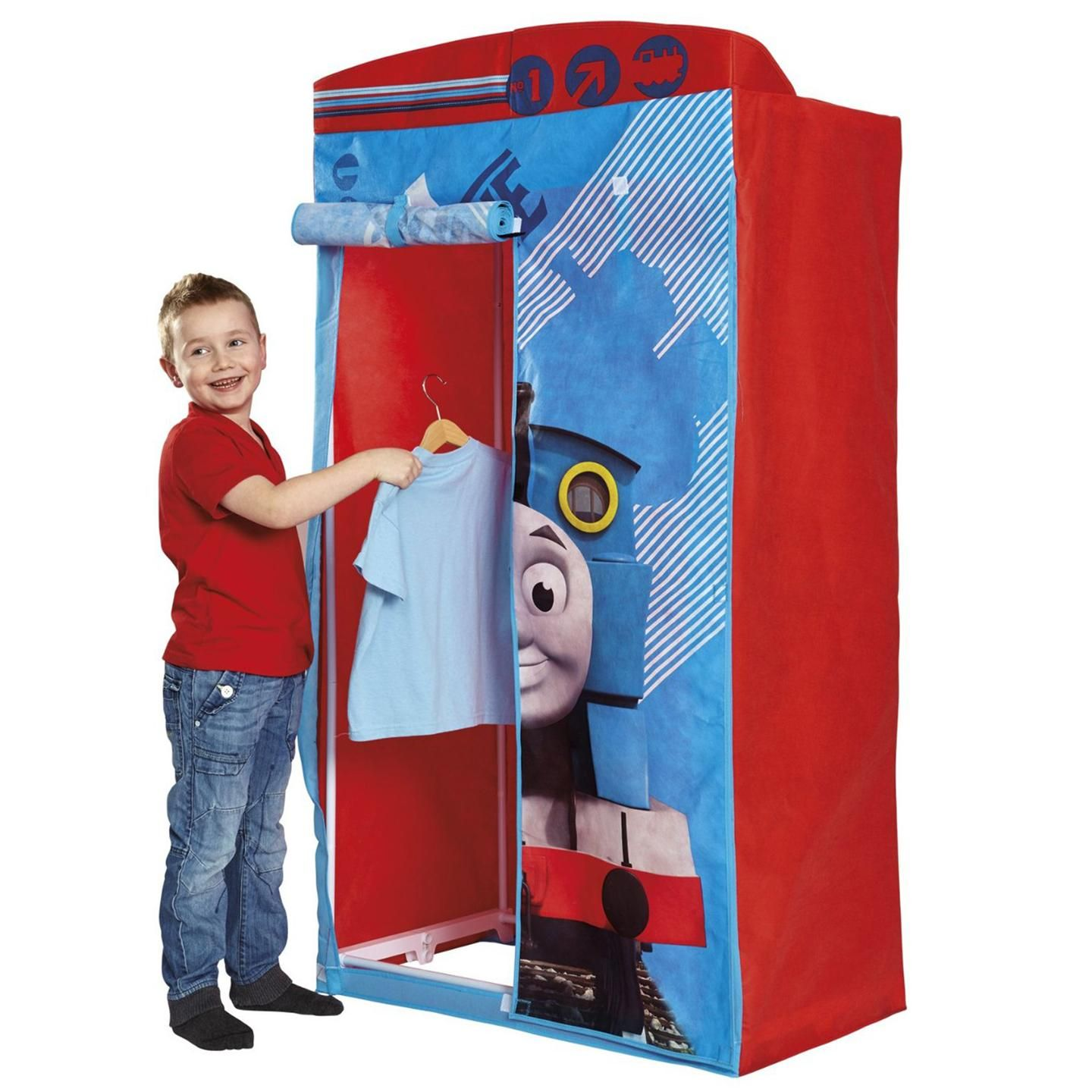 THOMAS FRIENDS FABRIC WARDROBE BEDROOM FURNITURE NEW OFFICIAL TANK ENGINE