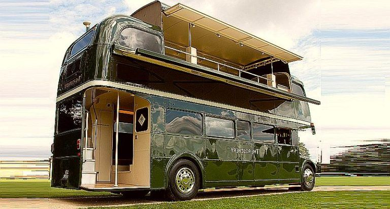 You Can Convert Double Decker Buses Into Two Story Homes With