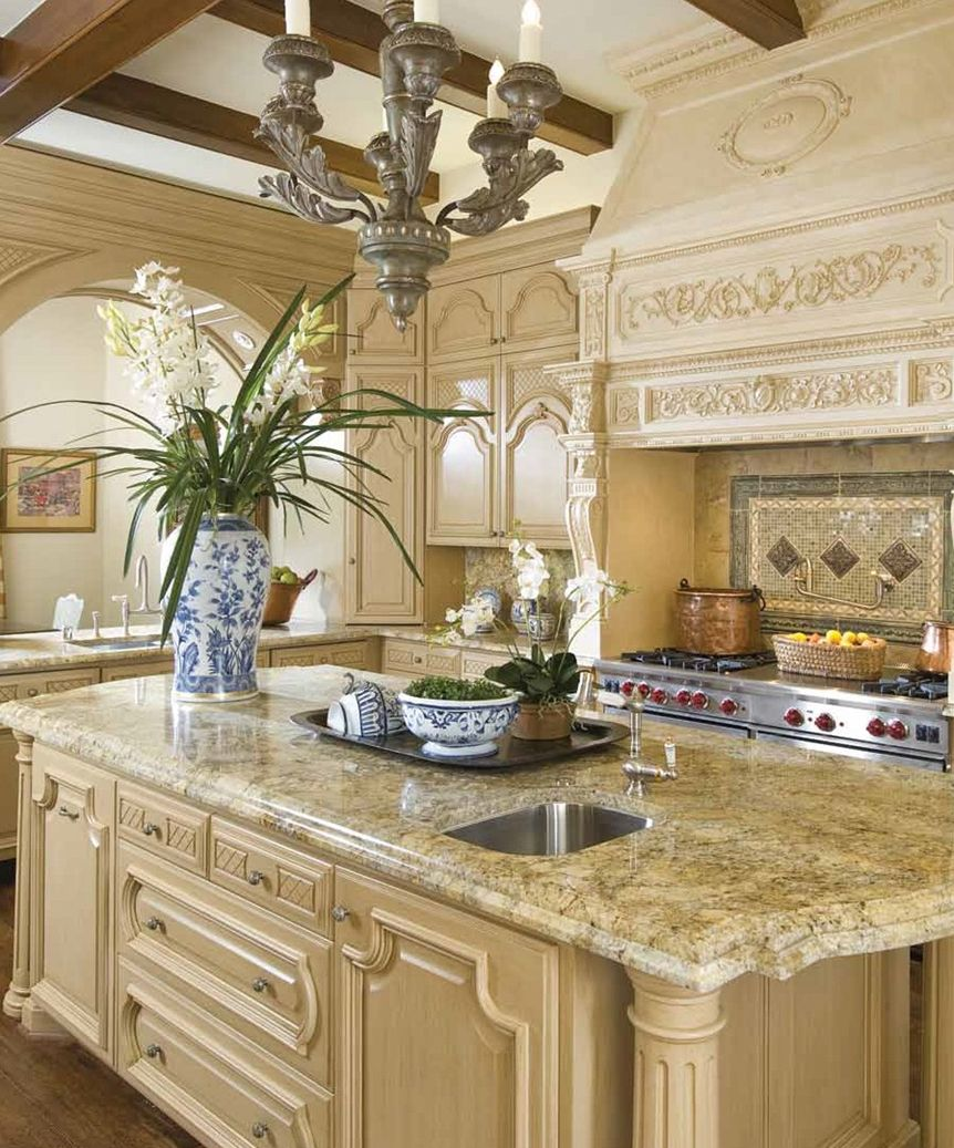 French Provincial Kitchen Cabinets: Monday Eye Candy! Stunning Classical French Home In Dallas