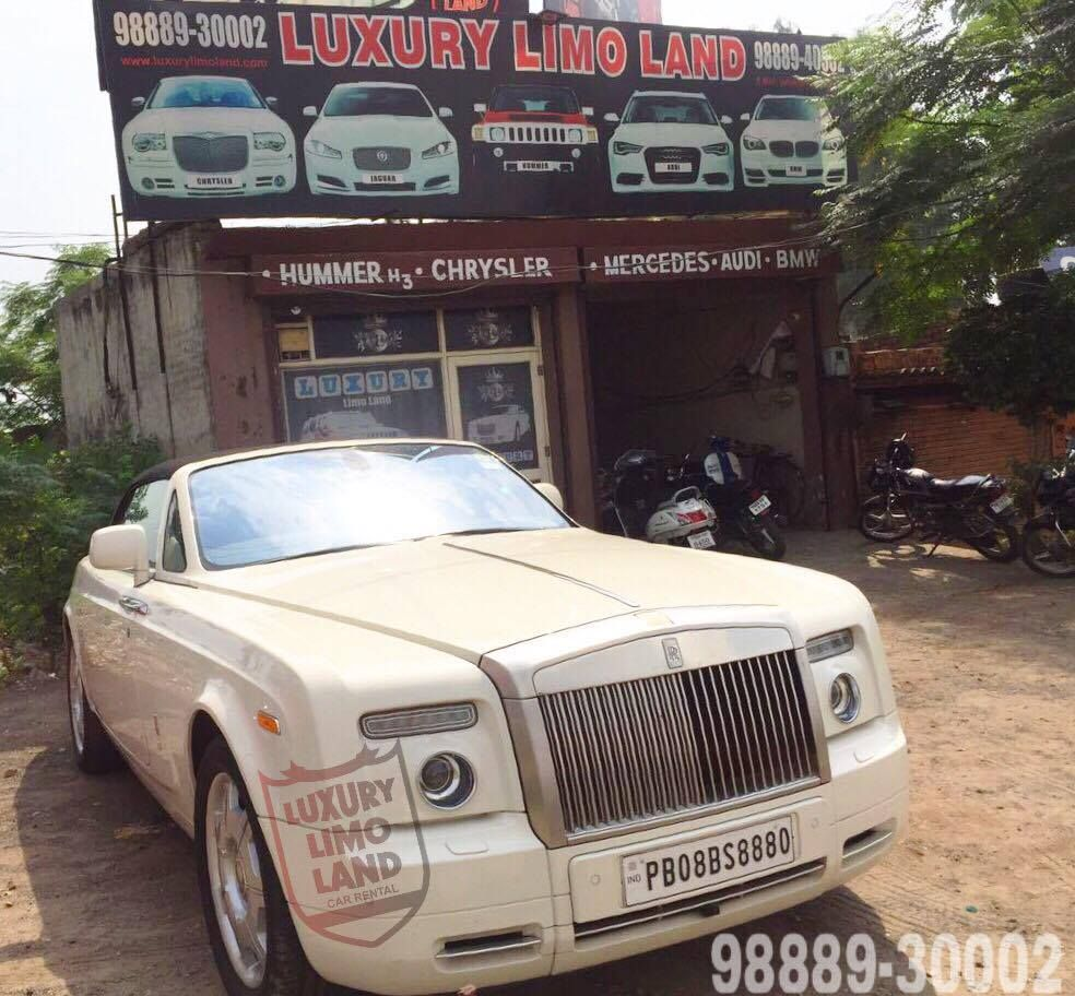 Charmant Rolls Royce For Wedding In Punjab