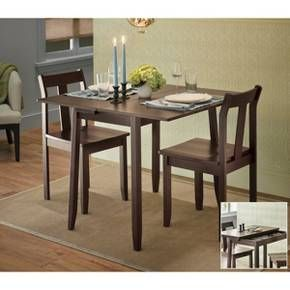 Threshold 3 Piece Expandable Dining Set