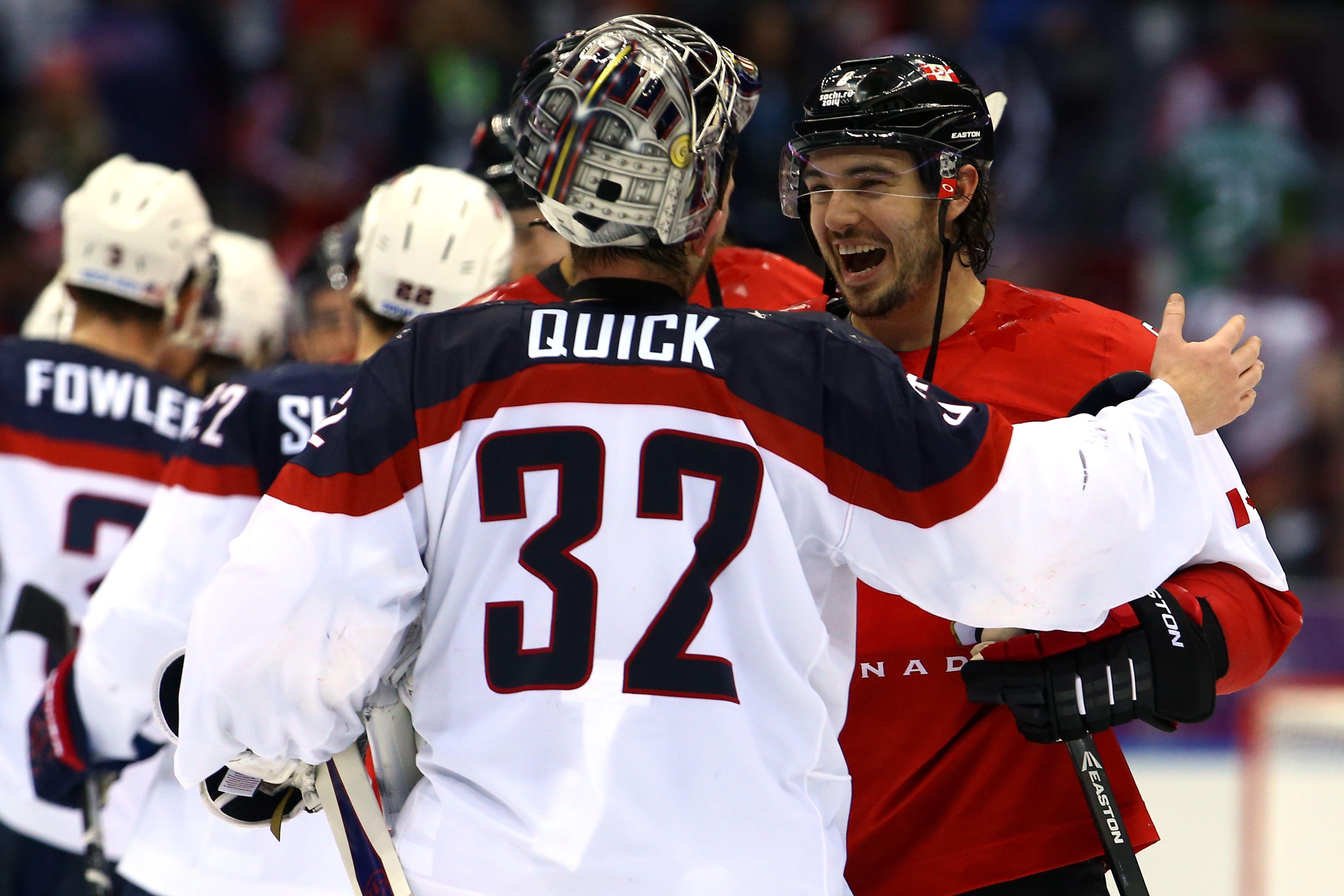 Photos United States Canada Olympic Hockey Kings Hockey La Kings Hockey