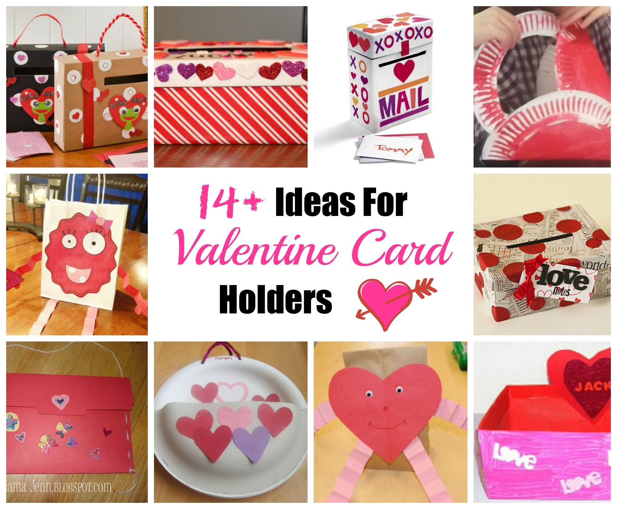 Diy Valentine Card Holder Ideas Great For A Classroom Craft