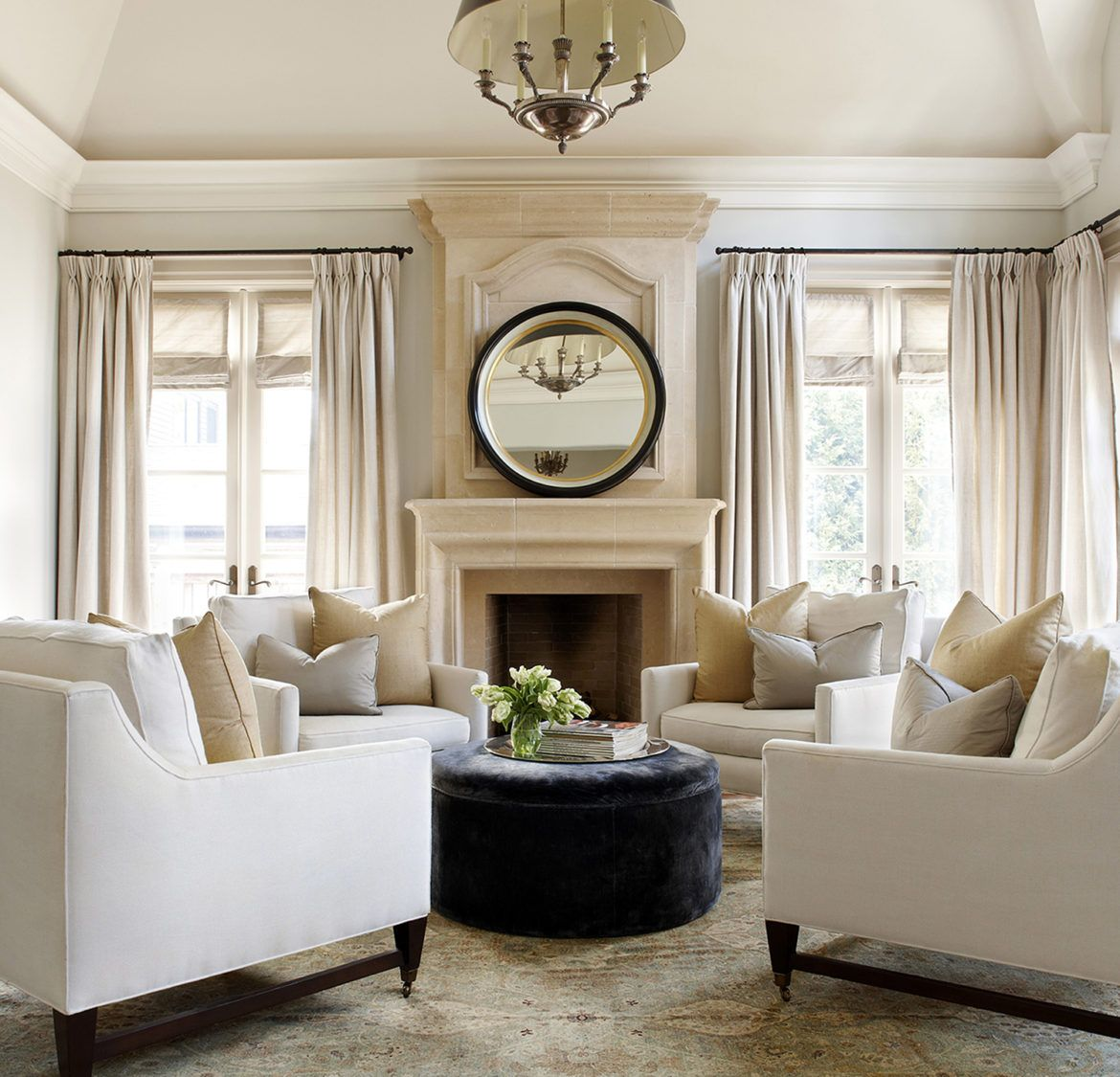 Classic Living Room Seating Formal Living Rooms Family Room Design