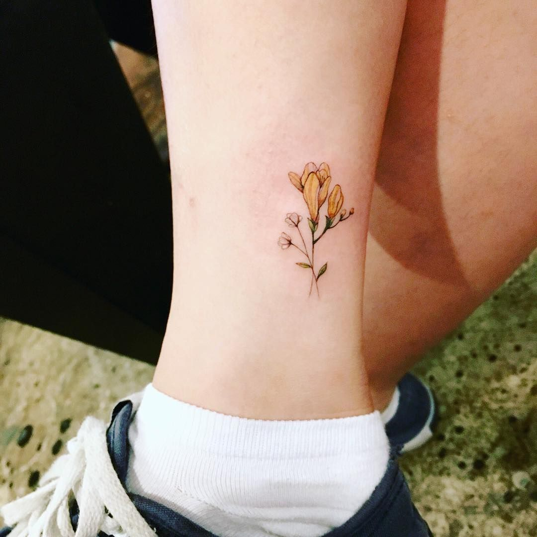 Pin On Floral Tattoos