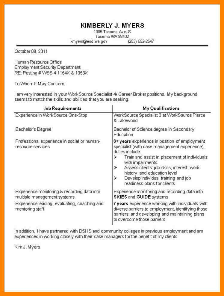 Cover Letter For Resume Examples from i.pinimg.com