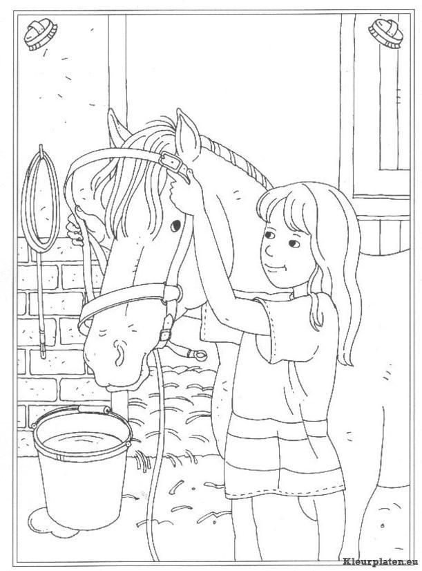 pinelsie poser on coloring kids  horse coloring books