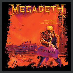 Megadeth Peace Sells Embroidered Patch Album Covers Megadeth Megadeth Albums