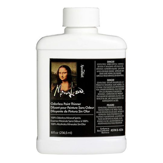 Speedball Mona Lisa Odorless Paint Thinner Products - peinture pour joint silicone