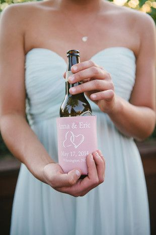 Their perfect palette: #blush and mint {Aaron and Jillian Photography}